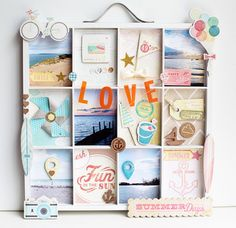 Love Summer Days Tray by A2Kate at @Abbey Adique-Alarcon Phillips Mounier Calico