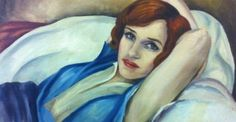 The Real Story Behind the Paintings in The Danish Girl (painting from film) Einar Wegener Paintings, Gerda Gottlieb, Renoir, Lili Elbe, Pop Art, The Danish Girl, Painting Of Girl, Girl Paintings, Art Corner