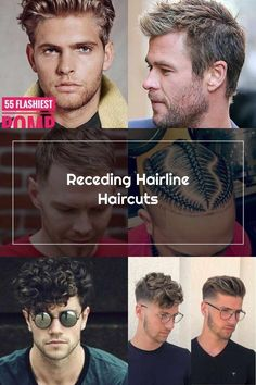 Best Short Haircuts, Haircuts For Men, High Forehead, Widow's Peak, Hairline, Short Hair Cuts, Pictures, Check, Style
