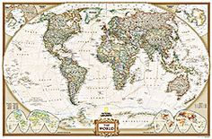 Traditional old style world map mural muralswallpaper 26 gumiabroncs Choice Image