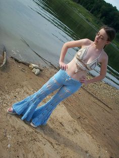 Ravelry: Pineapple Bell Bottoms pattern by Gwenevere Beesley