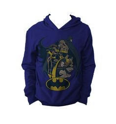 """Sudadera Batman y Robin "" Vatos disponible en www.kingmonster.com.mx"