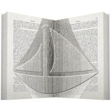 Yaught book folding pattern