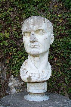 Gaio Clinio Mecenate: artist funded by the emperor Tiberius.