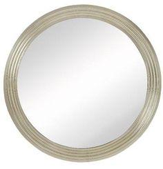 "Profis Round Silver Mirror 42"""