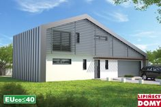 Lipińscy Domy Projekt: Temerin Energy Projects, Ideas Para, Garage Doors, Shed, Outdoor Structures, Outdoor Decor, Home Decor, Decoration Home, Room Decor