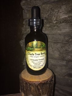 Chaste Tree Berry (VITEX) Tincture by spiritoftheboreal on Etsy