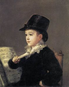 Portrait of Mariano Goya, - Francisco Goya (Spanish, Romanticism Spanish Painters, Spanish Artists, Francisco Goya Paintings, Francisco Jose, Free Art Prints, Old Master, Michelangelo, Oeuvre D'art, Les Oeuvres