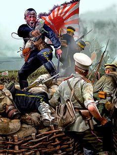 Japanese assault on Fort Arthur, Russo-Japanese War
