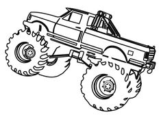 grave digger monster truck coloring pages.html