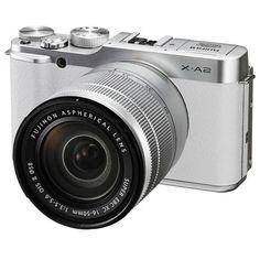 X-A2 Mirrorless Digital Camera by Fujifilm