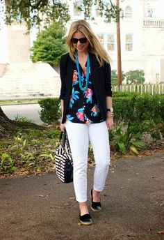 floral and turquoise