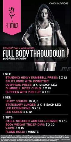 Full Body Throwdown by fitmiss