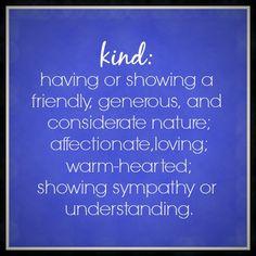 definition of KIND