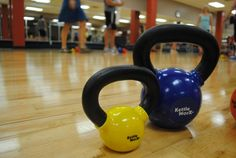 Try kettlebells with a KettleWorX group fitness class! #kettlebells #workout