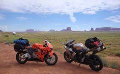 Nos bikes à Monument Valley - Galerie de photos - Moto Journal