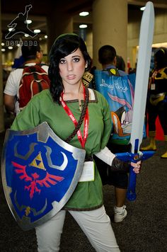 Zelda, San Diego Comic-Con 2011, via Flickr.