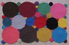 alfombra rectangular de trapillo - Buscar con Google