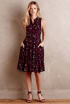 i really like this dress - the length, print, cut - Brynn Shirtdress