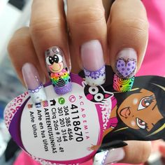 Bling Nails, My Nails, Cute Nail Designs, Manicure And Pedicure, Cute Nails, Nailart, Make Up, Nail Arts, Art Nails