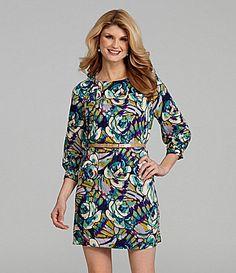 Antonio Melani Risto Floral Shift Dress   Dillards.com