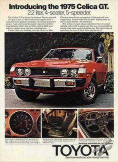 Toyota Celica Gt 2.2 Liter 4-seater 5-speeder (1975)