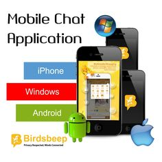 BirdsBeep - Multiplatform chat application available on #Google Play and #IOS Store