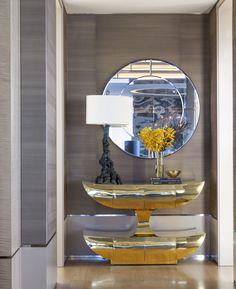 Millenium Tower entry: Sutro Architects