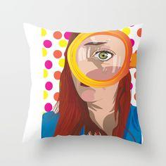 Wide Open Throw Pillow by eloisadesigns Princess Zelda, Disney Princess, Disney Characters, Fictional Characters, Throw Pillows, Design, Art, Art Background, Toss Pillows