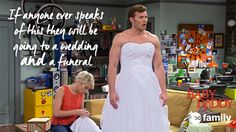 "S4 Ep20 ""Till Dress Do Us Part"" - LOL, Danny! You're hilarious. #BabyDaddy"