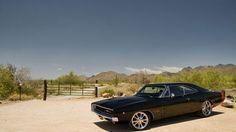 1968 Dodge Charger Rt Noir Voitures Fonds D Cran Gratuit