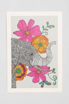 Valentina Ramos Dreams Of India Art Print