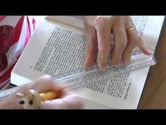 Livres plies, folded books, pliage de livres, plier un livre, livre plié - YouTube