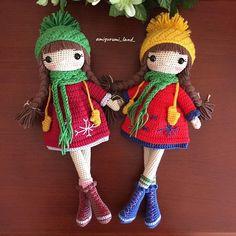 Educational and interesting ideas about amigurumi, crochet tutorials are here. Doll Amigurumi Free Pattern, Doll Patterns Free, Crochet Dolls Free Patterns, Christmas Crochet Patterns, Crochet Doll Pattern, Amigurumi Doll, Crochet Bear, Crochet Toys, Crochet Birds