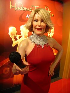 Joan Rivers - Madame Tussauds Hollywood
