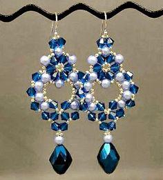 Linda's Crafty Inspirations: Princess Earrings