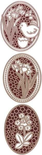 Advanced Embroidery Designs - FSL Easter Egg Set
