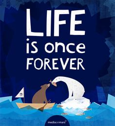 Life is once forever. #billboard #design by our wonderful intern Bristol from Maui