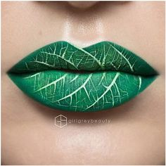 This Lip Art By Makeup Master Andrea Reed Is Fantastic! Incredible... ❤ liked on Polyvore featuring beauty products