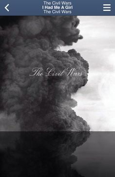 The Civil Wars ~ I Had Me A Girl (self titled)