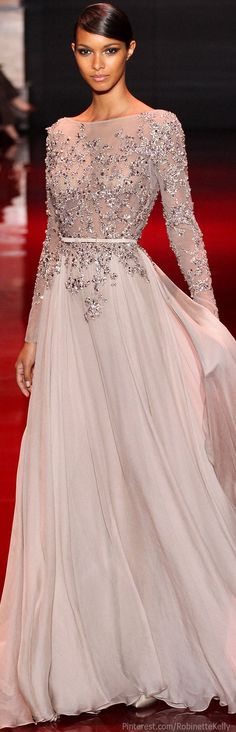 Elie Saab Haute Couture | F/W 2013 Love this dress #fashion #style #eloquence