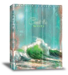 Count The Waves Canvas Art