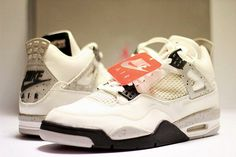 Air Jordan IV ' White Cement' 1999