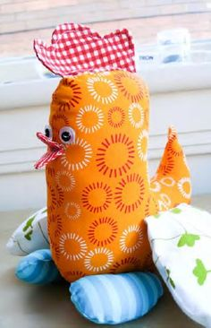 Funny Chick - free pdf pattern and tutorial