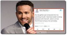 15 Ryan Reynolds's Tweets That Are a Gift From God