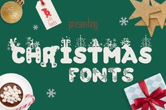 The Christmas Fonts Bundle by Anastasia Feya available for $8.40 at FontBundles.net