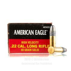 Federal 22 LR Ammo - 5000 Rounds of 40 Grain LRN Ammunition #22LR #22LRAmmo #Federal #FederalAmmo #Federal22LR #LRN #AmericanEagle