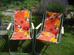 Garden chairs...would love a pair of these for the garden that I hope to have one day