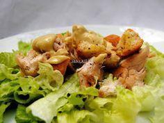 Ensalada Cesar con Pollo (Chicken Caesar Salad)