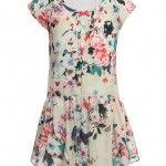 Jottum Kleid SALON mit aop in bunt in Gr. 110 für Mädchen Kinderkleidung Mädchen